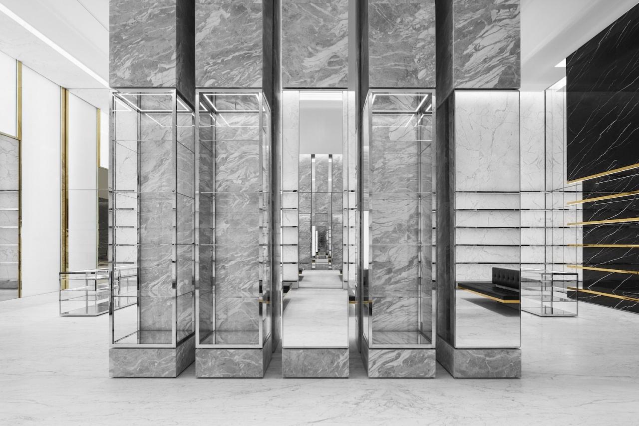 d2993aaec22 Introducing Saint Laurent's Super-Slick New Boutique in the Dubai Mall