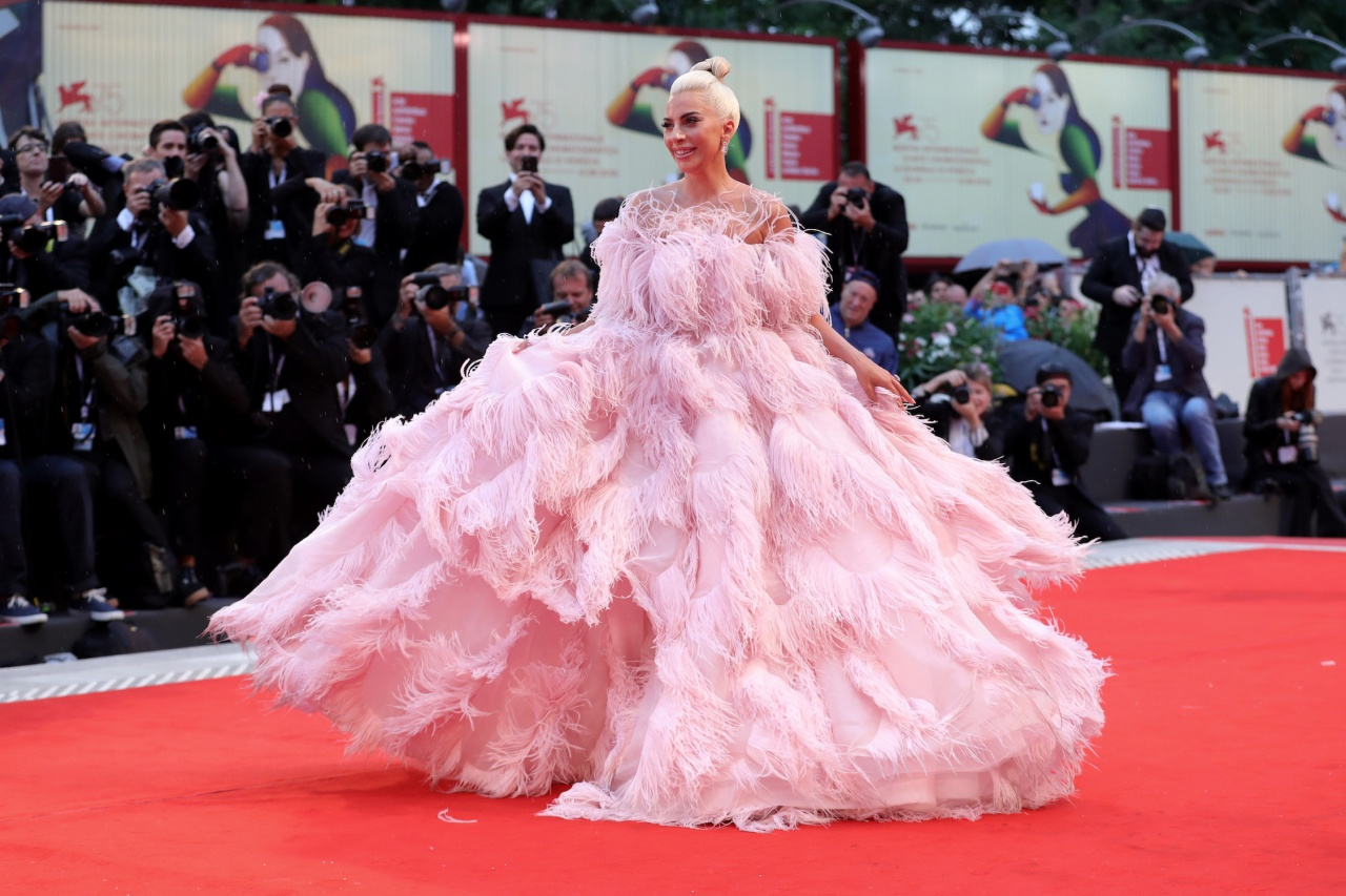 ce3b1373ef45 Lady Gaga walks the red carpet ahead of the 'A Star Is Born' screening
