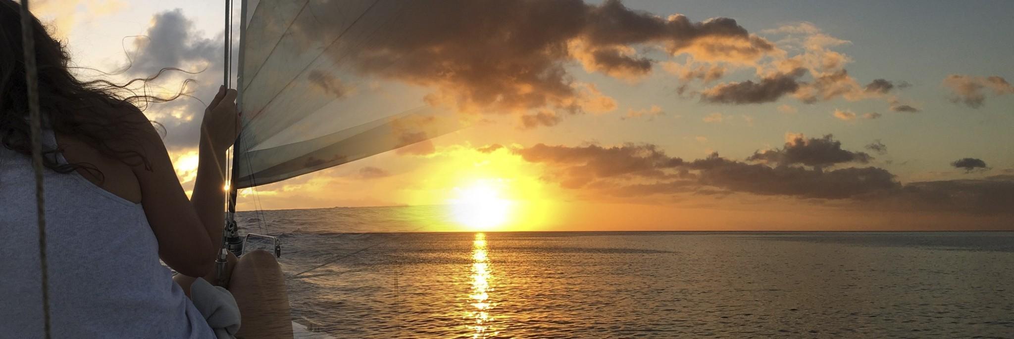 One Dubai Woman's Story About Sailing Across the Atlantic