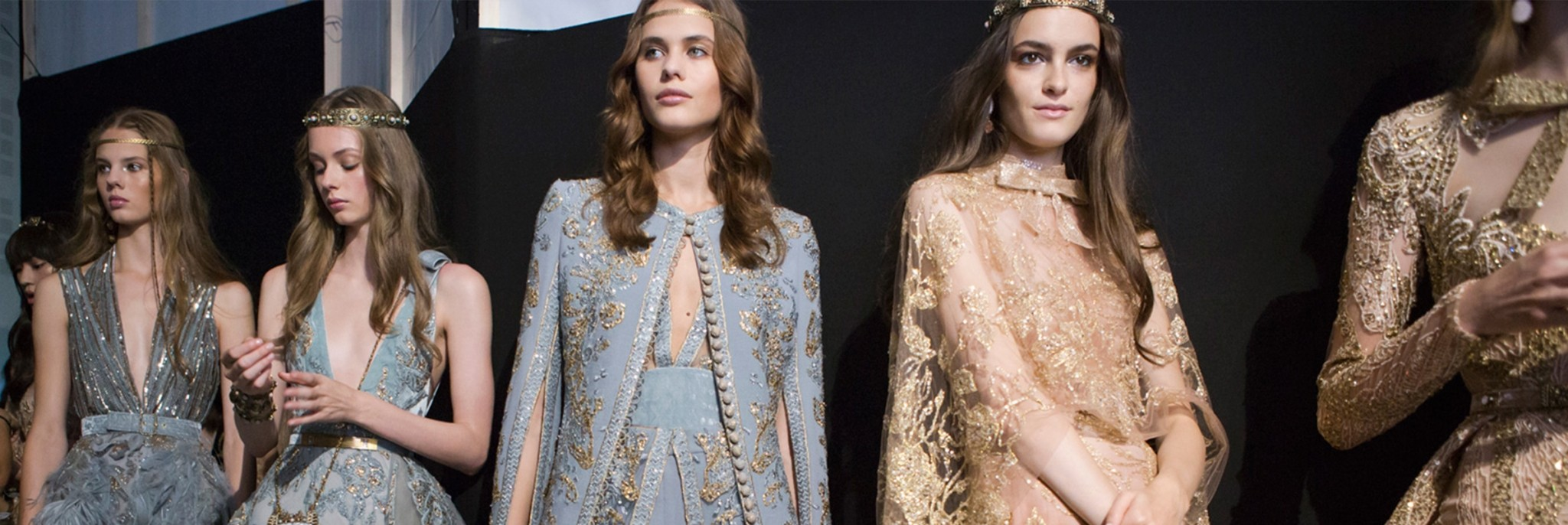 Elie Saab Fall 2017 Couture Is (Literally) Fit for a Queen