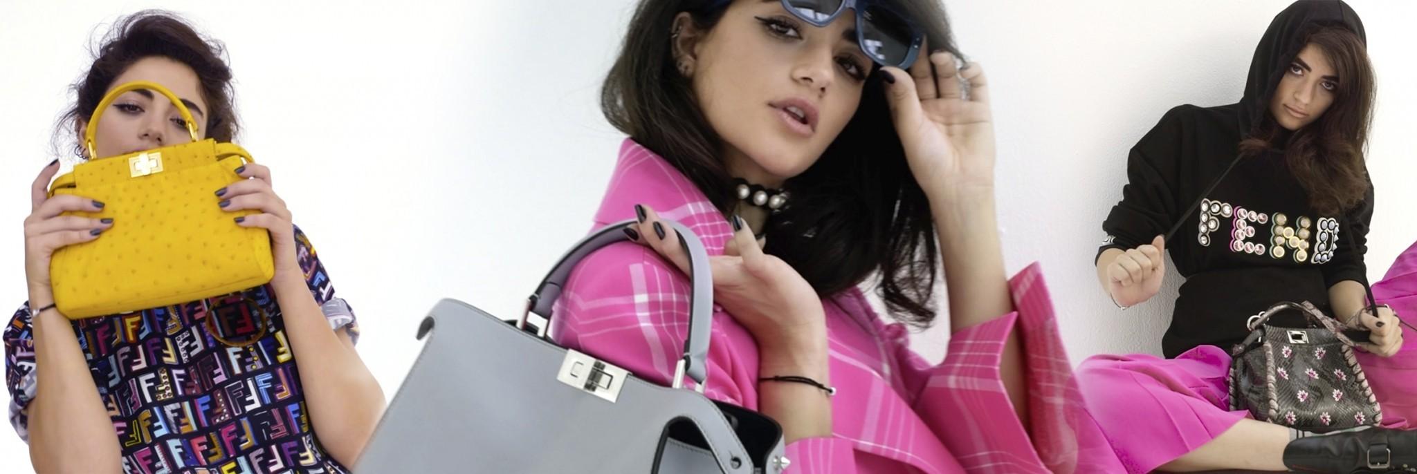 Fendi's 'Peekaboo' Bag, Served with a Side of Rebel Cool