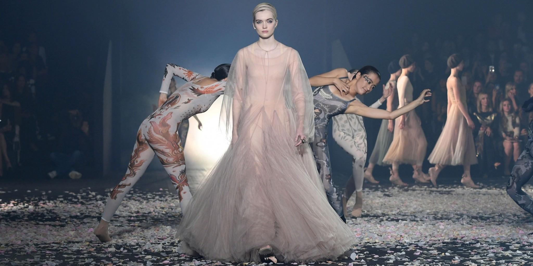 The Spirit of Dance Invades Dior's Spring/Summer 2019 Line-Up
