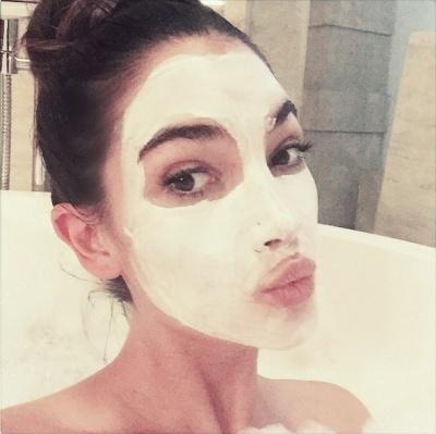 Celebrity Face Mask Lily Aldridge
