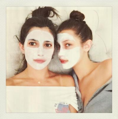Bella Hadid Celebrity Face Mask