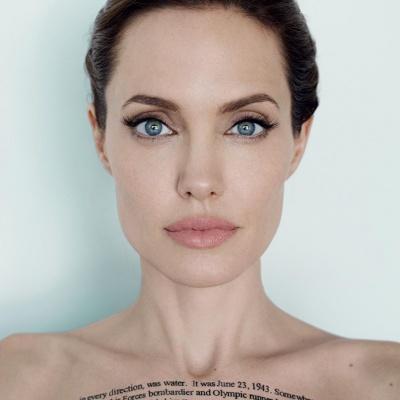 Angelina Jolie photo: courtesy of @angeejolie