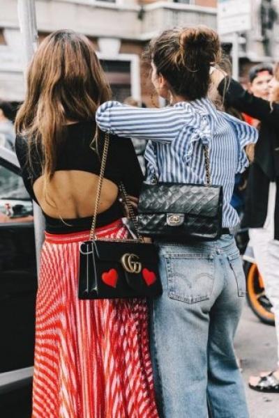 Iconic handbags street style