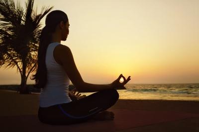 Madinat Jumeirah Talise Spa sunset yoga