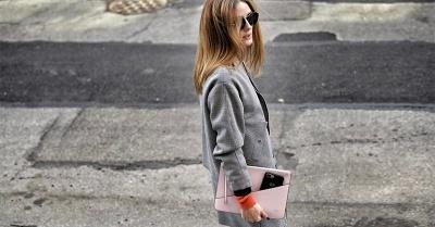 Olivia Palermo clutch