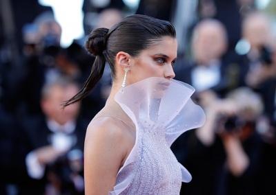 Cannes 2017 Celebrity Hair Sara Sampaio