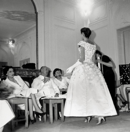 Dior Working in Atelier