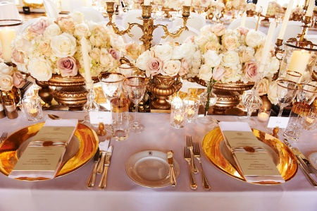 How To Create A Wedding Table Setting