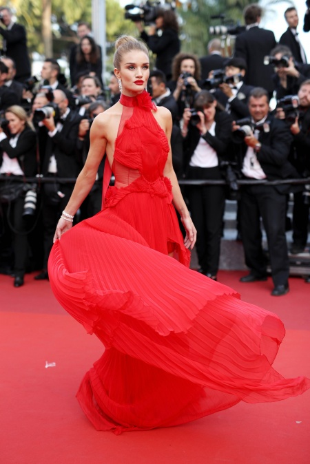 Celebrities Wearing Red Gowns on the Red Carpet - Savoir Flair