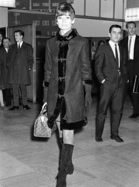 Louis Vuitton Speedy Одри Хепберн