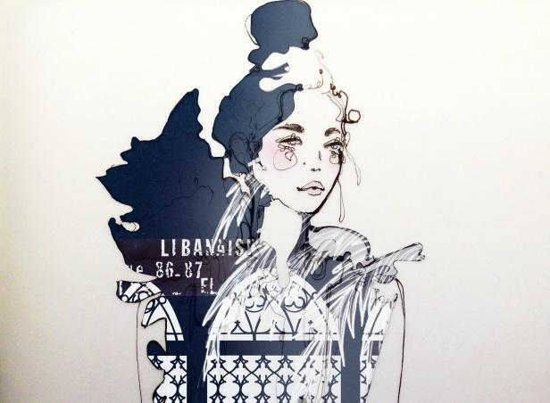 Blueprint beirut at london fashion week savoir flair malvernweather Images