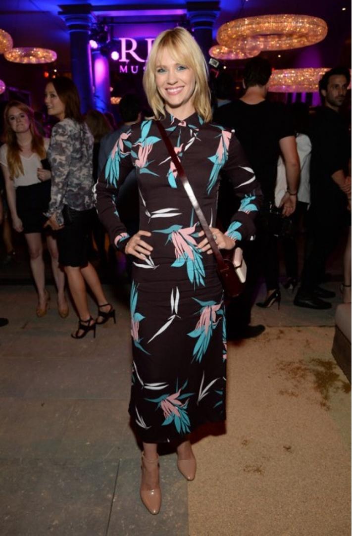 Suki Waterhouse wears Louis Vuitton at Harrods Shoe Heaven