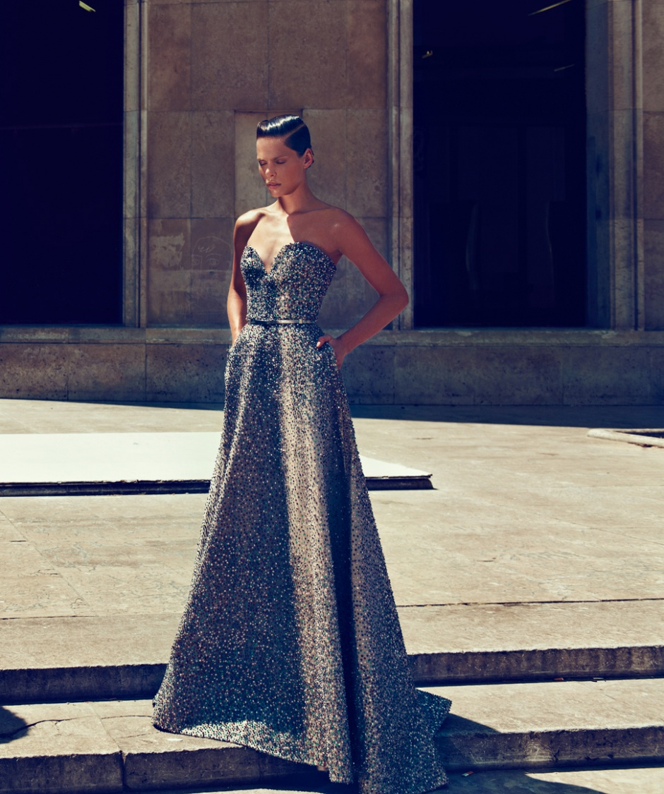 Gown by ELIE SAAB COUTURE