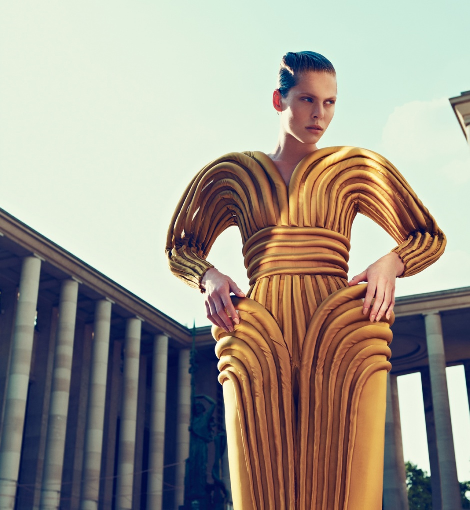 Dress by JEAN PAUL GAULTIER COUTURE