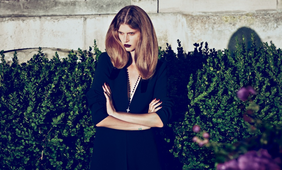 Dress by Stella McCartney Vintage necklace