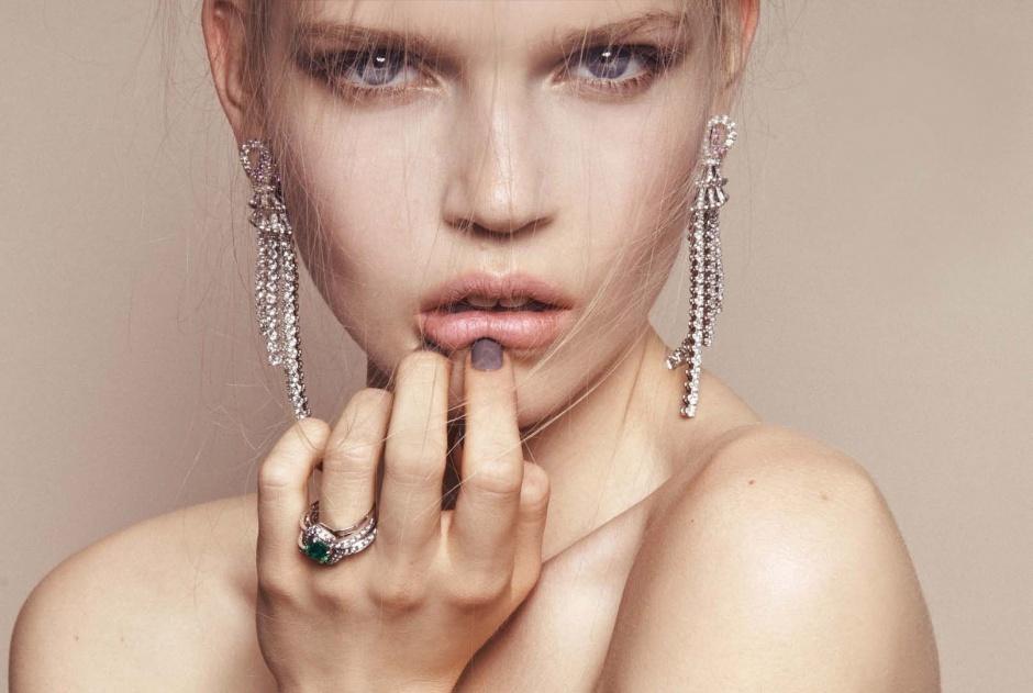 Earrings by boucheron