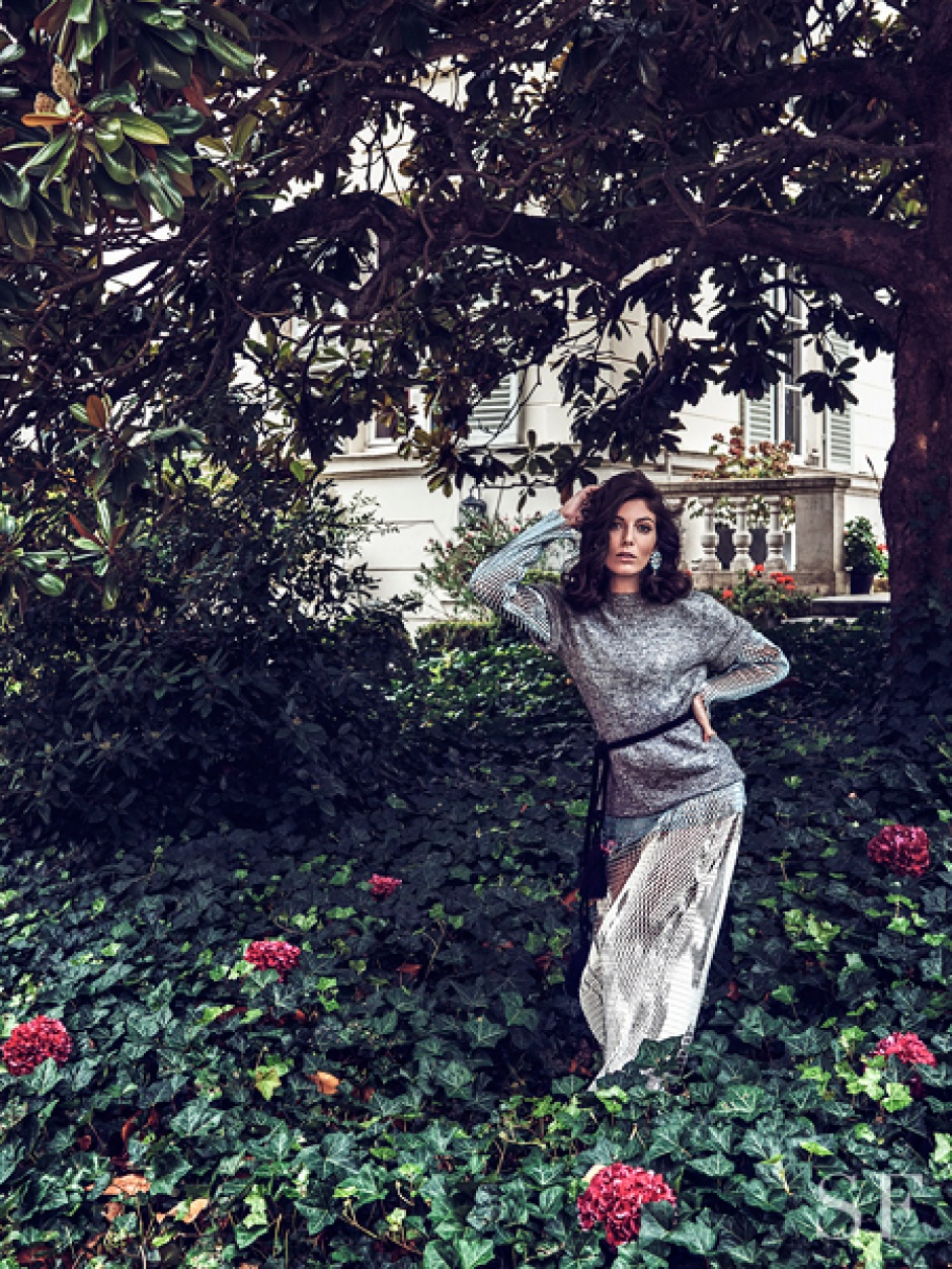 Razane Jammal in Dior, Prada, and Lanvin