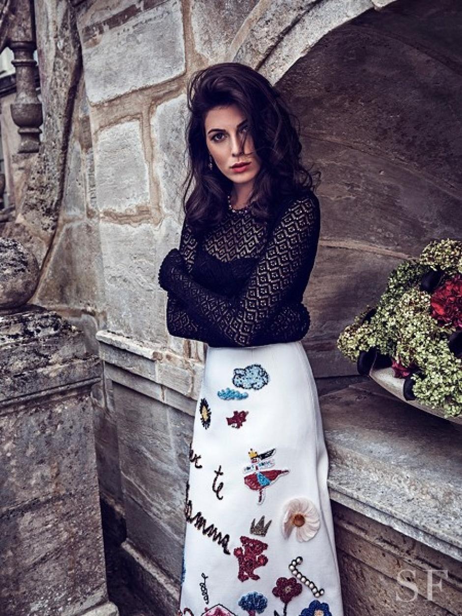 Razane Jammal in Dolce & Gabbana