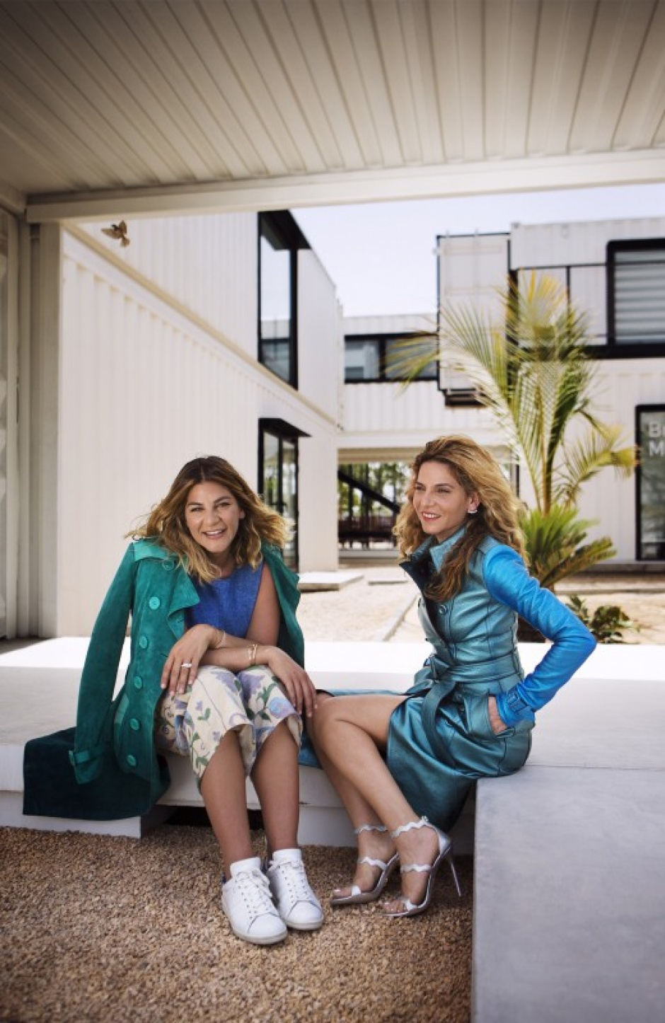 Burberry trench coat Ayah and Maliha Tabari The Art of the Trench d3 Design District