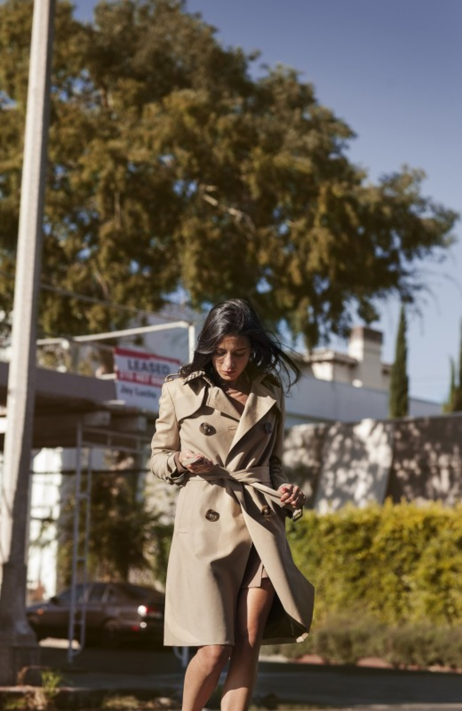 Burberry trench coat Haya Maraka The Art of the Trench