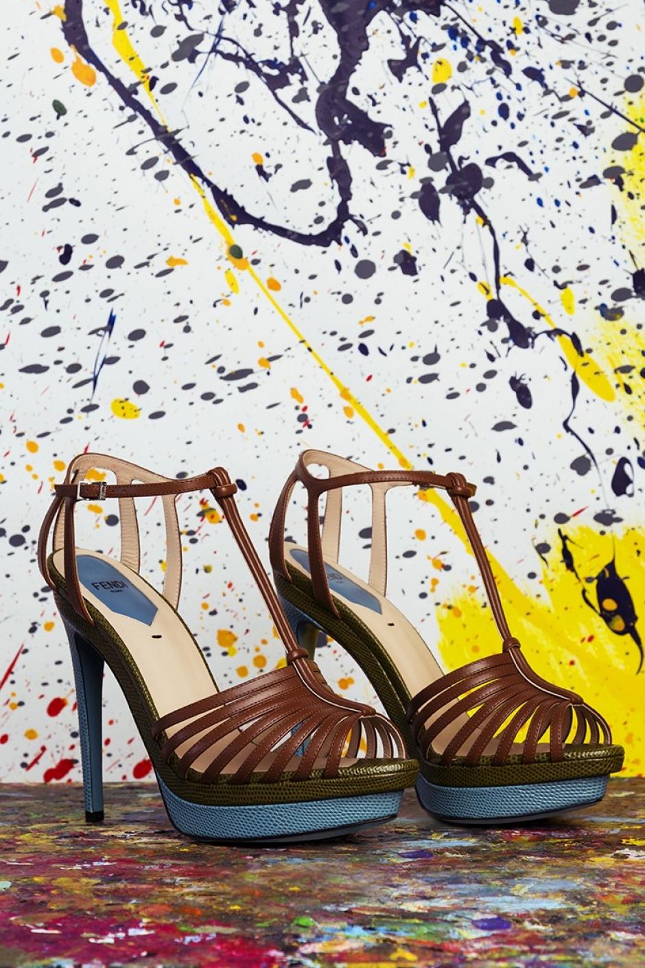 Fendi shoes shoot x SavoirFlair