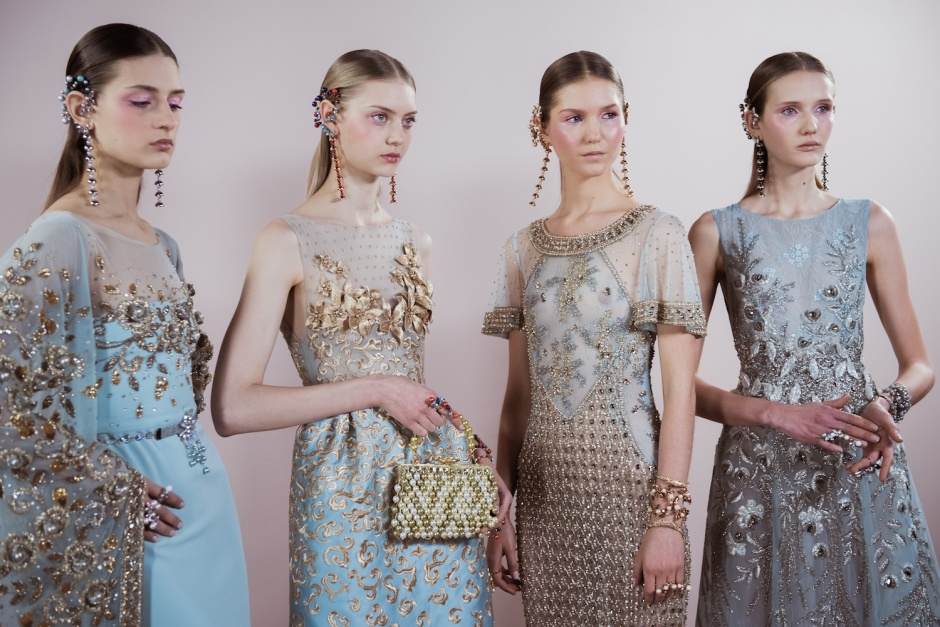 Georges Hobeika Spring 2017 Couture backstage