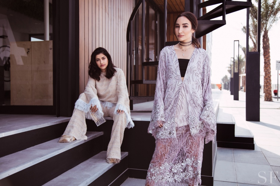 Madiyah Al Sharqi, Anum Bashir, Lina Mustafa