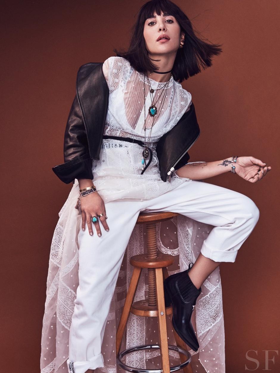 Dior jewelry photoshoot Dana Hourani Savoir Flair