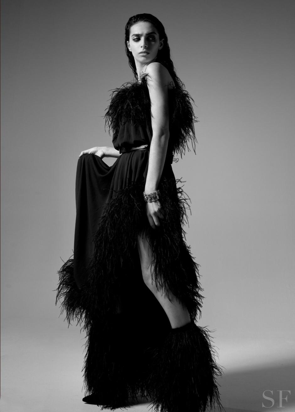 Savoir Flair Yves Saint Laurent Shoot