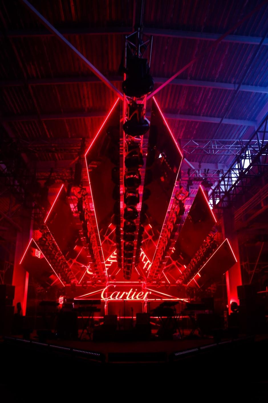 The Cartier Party: Santos de Cartier
