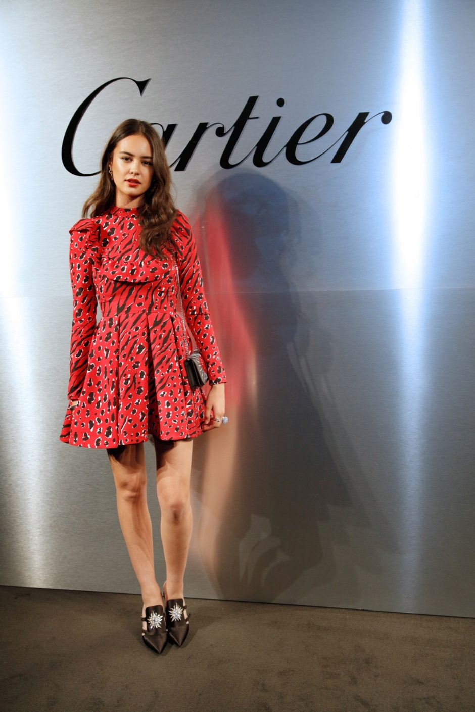 Cartier Celebrates The Launch Of Santos de Cartier Watch - Photocall